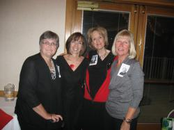 Barb, Kathy, Suzanne and Pam