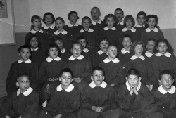 Methodist Church Choir circa 1960