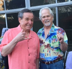 Jerry Mathers and Tony Dow