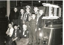 Cub Scouts at South Main